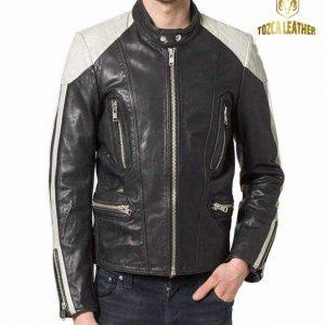 Jaket Kulit Bikers Motor KM038