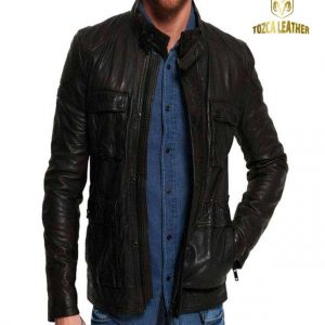 Jaket Kulit Safari KS041