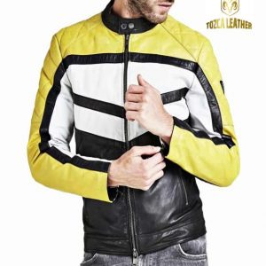 Jaket Kulit Bikers Motor KM063
