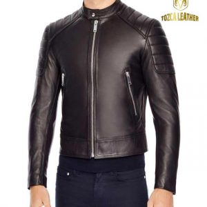 Jaket Kulit Bikers Motor KM072