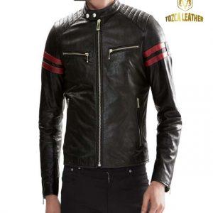 Jaket Kulit Bikers Motor KM095