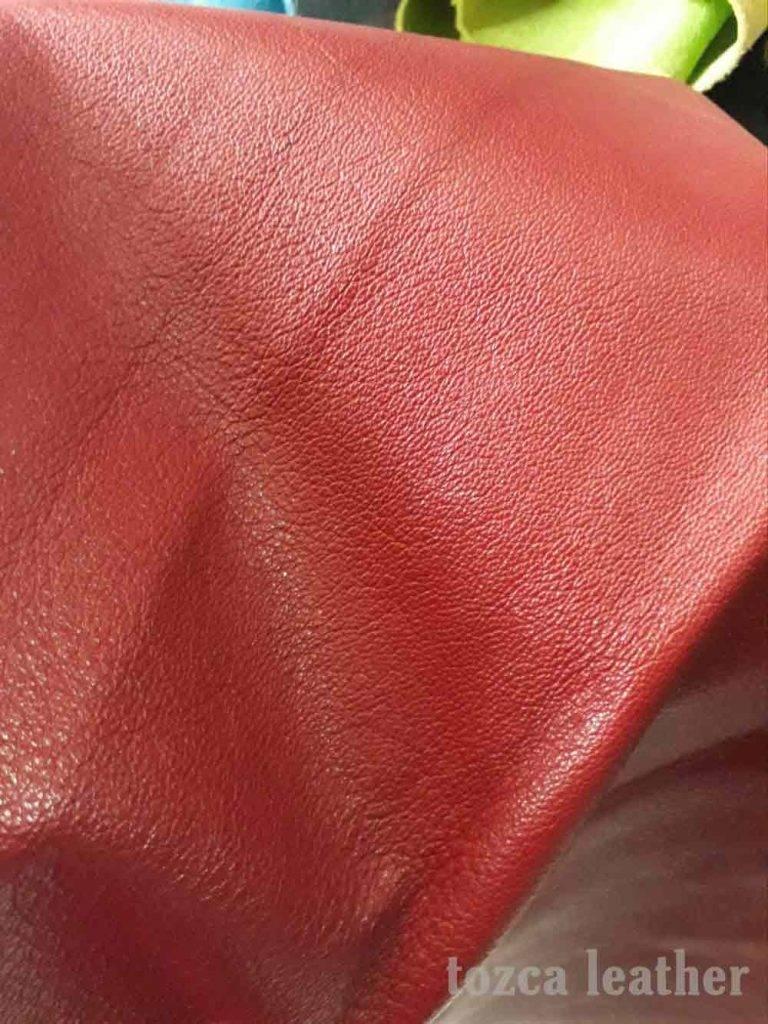 bahan kulit kambing asli