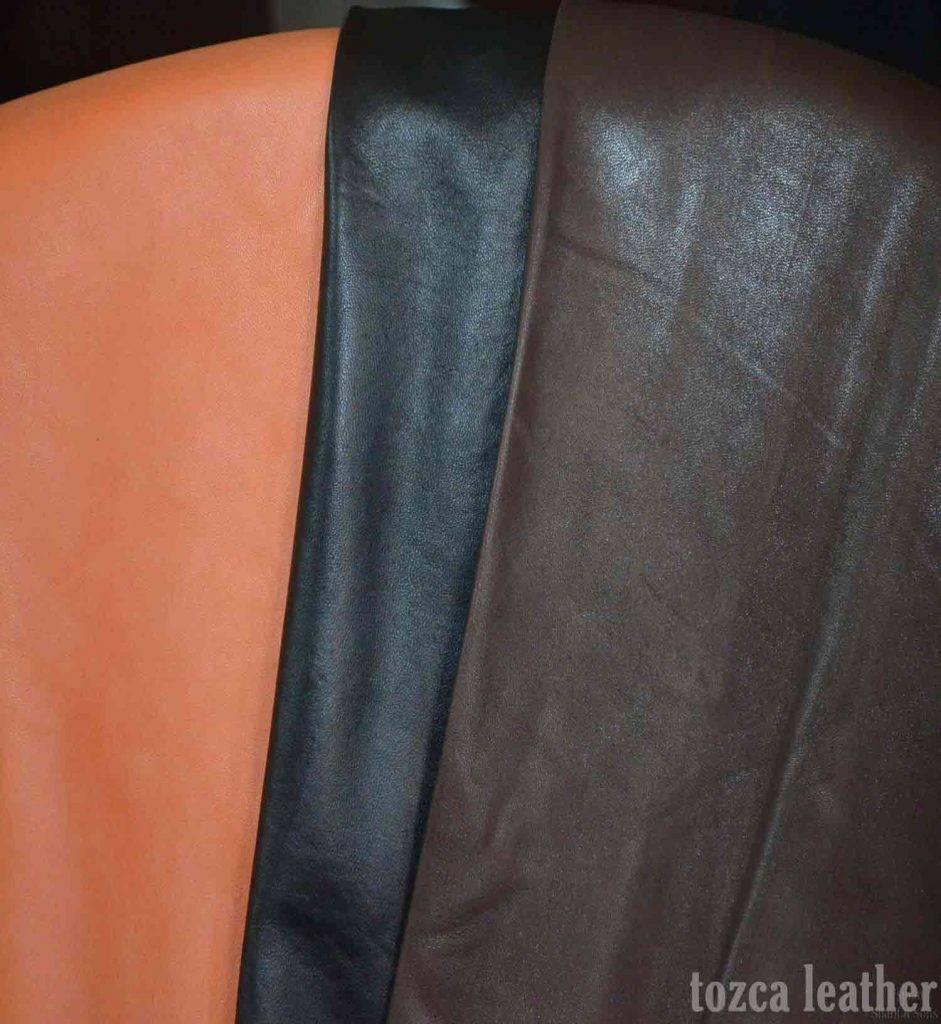 bahan jaket kulit dari domba