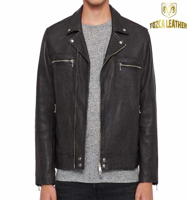 Jaket Kulit Ramones Pria KR056